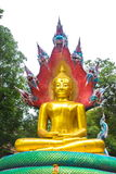 Βούδας με το βασιλιά του naga 02 Στοκ φωτογραφία με δικαίωμα ελεύθερης χρήσης