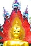 Βούδας με το βασιλιά του naga 04 Στοκ φωτογραφία με δικαίωμα ελεύθερης χρήσης