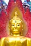 Βούδας με το βασιλιά του naga 03 Στοκ φωτογραφίες με δικαίωμα ελεύθερης χρήσης