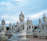 Βούδας, πολλή κατασκευή Στοκ φωτογραφία με δικαίωμα ελεύθερης χρήσης