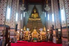 Βούδας σε σύνθετο Wat Arun Στοκ εικόνες με δικαίωμα ελεύθερης χρήσης
