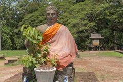 Βούδας σε Angkor Wat, Καμπότζη Στοκ φωτογραφία με δικαίωμα ελεύθερης χρήσης