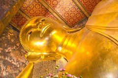 Βούδας σε Wat Po Μπανγκόκ Ταϊλάνδη Στοκ φωτογραφία με δικαίωμα ελεύθερης χρήσης