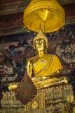 Βούδας στο ναό σε Wat Pho Στοκ εικόνα με δικαίωμα ελεύθερης χρήσης