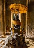 Βούδας στο ναό Bayon, Angkor, Καμπότζη Στοκ φωτογραφίες με δικαίωμα ελεύθερης χρήσης