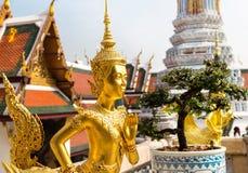 Βούδας στο ναό Wat Po στεγών Στοκ φωτογραφία με δικαίωμα ελεύθερης χρήσης