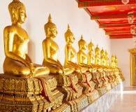 Βούδας στο ναό Wat Po Στοκ Εικόνα