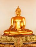 Βούδας στο ναό Wat Po Στοκ Εικόνες
