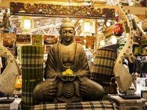 Βούδας στο φεστιβάλ της Ανατολής στη Ρώμη Ιταλία Στοκ εικόνα με δικαίωμα ελεύθερης χρήσης