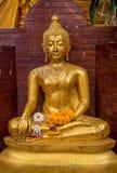 Βούδας στο wat Intharawiharn Bangkhunprom Στοκ Φωτογραφίες