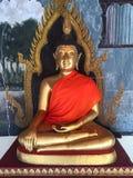 Βούδας χρυσός Στοκ Εικόνα