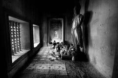 Βούδας, Angkor Στοκ φωτογραφία με δικαίωμα ελεύθερης χρήσης