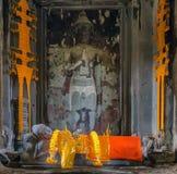 Βούδας Angkor Wat Στοκ Φωτογραφία