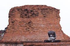 Βούδας Ayuthaya Στοκ Εικόνες