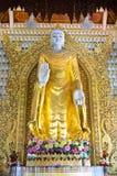 Βούδας Dhamikarama στο βιρμανό ναό σε Penang, Μαλαισία Στοκ Εικόνες