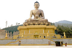 Βούδας Dordenma, Thimphu, Μπουτάν Στοκ φωτογραφία με δικαίωμα ελεύθερης χρήσης