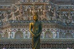 Βούδας Wat Arun Στοκ Εικόνες