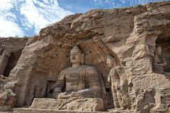 Βούδας, yungang σπηλιές Στοκ φωτογραφίες με δικαίωμα ελεύθερης χρήσης