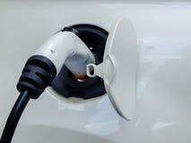 Βούλωμα για τα ηλεκτρικά οχήματα επαναφορτίσεων Στοκ Φωτογραφίες