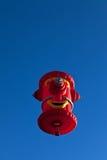 Βούλωμα πυρκαγιάς μπαλονιών ζεστού αέρα Στοκ εικόνα με δικαίωμα ελεύθερης χρήσης