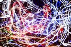 Βολίδα ελαφρύς-ιχνών στοκ εικόνες