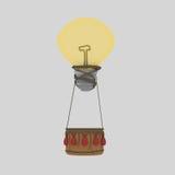 Βολβός μπαλονιών ιδέας Στοκ εικόνα με δικαίωμα ελεύθερης χρήσης