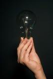 Βολβός χεριών hwith Στοκ εικόνα με δικαίωμα ελεύθερης χρήσης