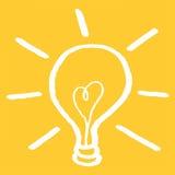βολβών συλλογής σχεδίου στοιχείων εικονιδίων ιδέας ελαφρύ διάνυσμα προτύπων λογότυπων καθορισμένο Στοκ Εικόνα
