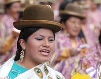 Βολιβιανή γιορτή στοκ εικόνα