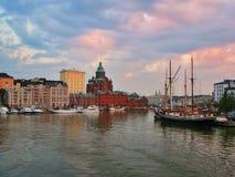 βράδυ Ελσίνκι Στοκ φωτογραφίες με δικαίωμα ελεύθερης χρήσης