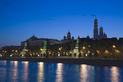 βράδυ Κρεμλίνο Στοκ εικόνα με δικαίωμα ελεύθερης χρήσης