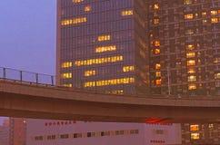 Βράδυ Πεκίνο στοκ φωτογραφία