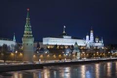 βράδυ το καλό Κρεμλίνο Στοκ φωτογραφίες με δικαίωμα ελεύθερης χρήσης