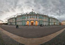 Βράδυ φθινοπώρου στο χειμερινό παλάτι Στοκ Φωτογραφίες