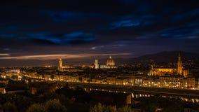 βράδυ Φλωρεντία στοκ φωτογραφίες με δικαίωμα ελεύθερης χρήσης
