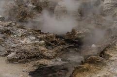 Βράζοντας λάσπη Στοκ Φωτογραφίες