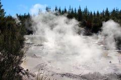 Βράζοντας λίμνη λάσπης Στοκ φωτογραφίες με δικαίωμα ελεύθερης χρήσης