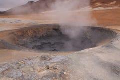 βράζοντας ατμός λάσπης Στοκ Εικόνες