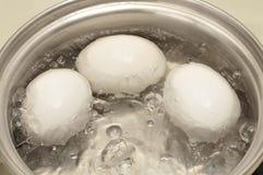 βράζοντας αυγά Στοκ φωτογραφίες με δικαίωμα ελεύθερης χρήσης