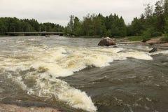 Βράζοντας ποταμός Στοκ εικόνες με δικαίωμα ελεύθερης χρήσης