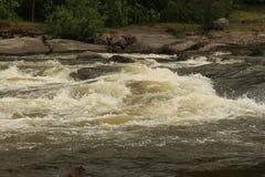 Βράζοντας ποταμός Στοκ εικόνα με δικαίωμα ελεύθερης χρήσης