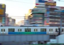Βράση της αμαξοστοιχίας περιφερειακού σιδηροδρόμου στοκ εικόνες