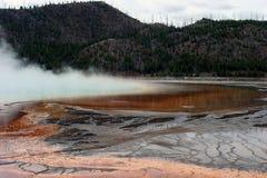 βράσιμο στον ατμό λιμνών θλί&ps Στοκ Εικόνες