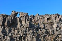 Βράχοι λάβας Στοκ Φωτογραφία