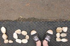Βράχοι αγάπης Στοκ Φωτογραφία