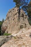 Βράχοι αετών αδύτων Thracian στο βουνό Rhodopes, περιοχή Kardzhali, της Βουλγαρίας Στοκ φωτογραφία με δικαίωμα ελεύθερης χρήσης