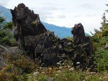 βράχοι αιχμηροί Στοκ εικόνες με δικαίωμα ελεύθερης χρήσης