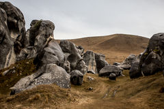 Βράχοι Αρχόντων των δαχτυλιδιών Στοκ φωτογραφία με δικαίωμα ελεύθερης χρήσης