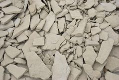 βράχοι ασβεστόλιθων Στοκ εικόνες με δικαίωμα ελεύθερης χρήσης