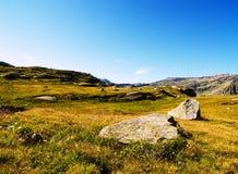 βράχοι βουνών Στοκ Εικόνες